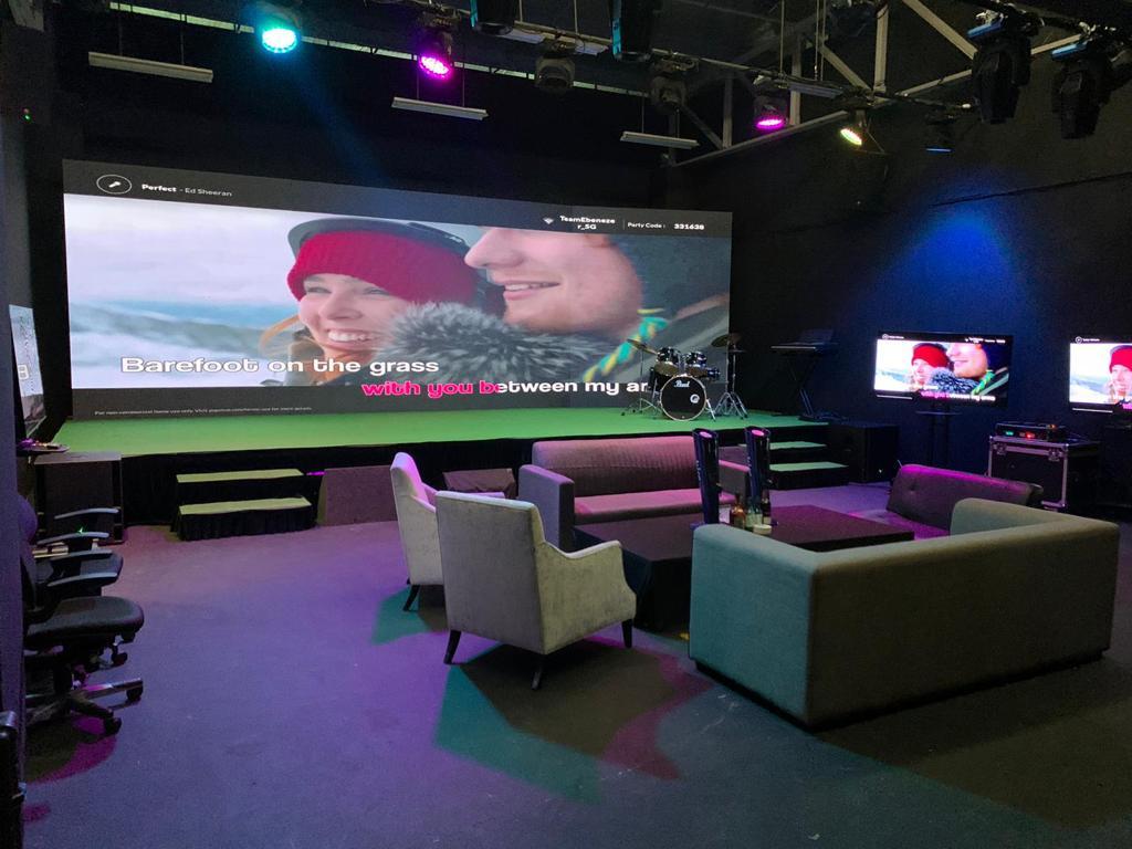 virtual event company Singapore LED Wall Studio